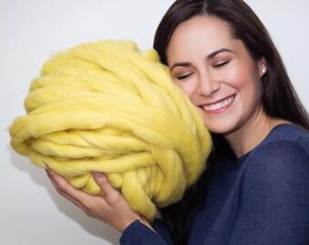 Chunky Yarn, Arm knitting Merino wool, Super Chunky Yarn, Super Bulky Yarn,Arm Knitting Yarn