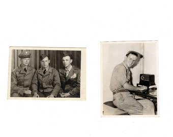 Two soldier photos