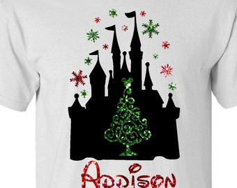 Disney christmas shirts | Etsy