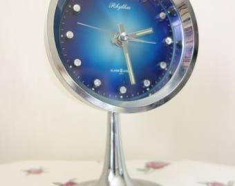 1970 Tulip Clock & Alarm