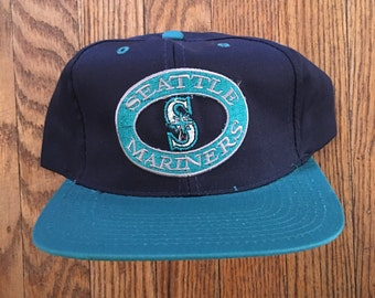 Vintage Seattle Mariners MLB Snapback Hat Baseball Cap