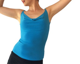 Draped neck  - Tango Top