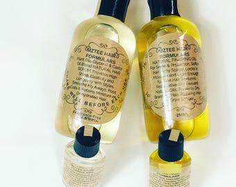 250ml Natural Moisture Serum/Coil Enhancing Serum & Finishing Growth Oil/Repair Oil/Volume Oil/Hot Oil Treatment