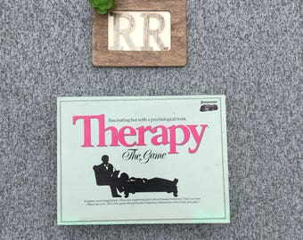 THERAPY The Game - Pressman Board Game - Vintage 1986