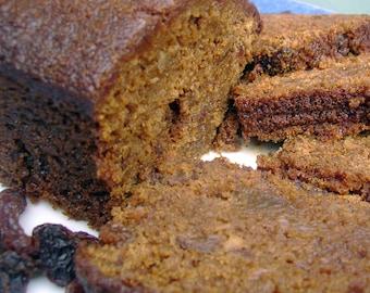Raisin Ginger Cake