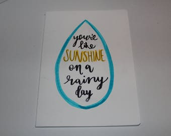 Sunshine - A5 Notebook (Lined)
