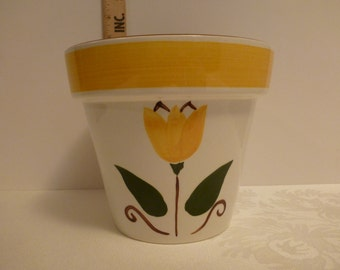 Stangl Single Tulip 7'' Flower Pot #3661
