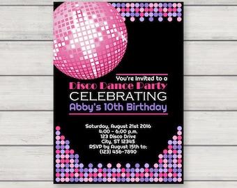 Party Invitation Etsy