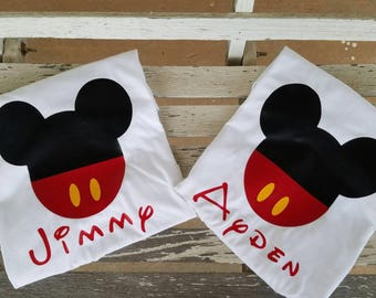 Personalized Mickey Mouse shirt, Personalized Minnie Mouse shirt, Family Disney trip, Disney gear, Disney Shirt, toddler wear
