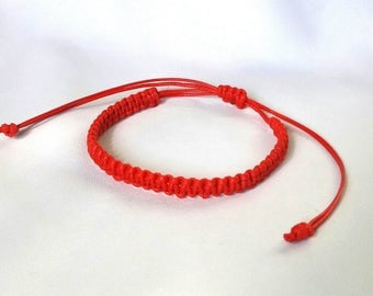 Red bracelet KABBALAH bracelet ReD Buddhist bracelet Mens bracelet Protection Bracelet Good Luck Bracelet man Bracelets red string bracelet