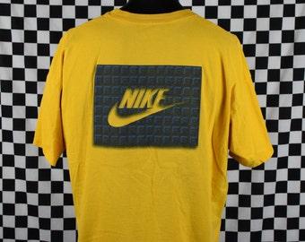 Nike T-shirt / Vintage Nike Shirt / 1990's Nike Brand Tee / XL / XLarge / Soft / Swoosh / Sport / Made in USA
