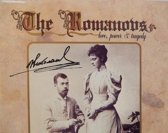 The Romanovs, love, power and tragedy, Russian monarchy, hardcover book 1993, Alexander Bokhanov