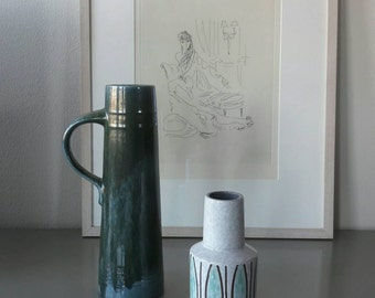 Two Vintage Vase made in West Germany '60
