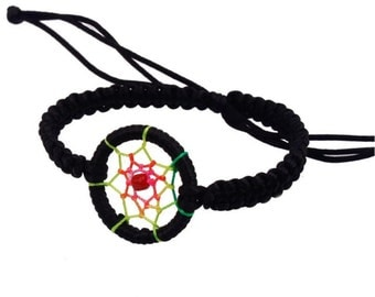 Dream Catcher Bracelet  (Black)