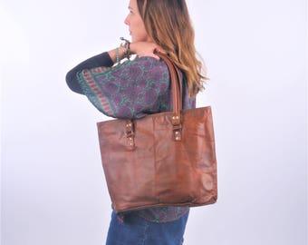 SALE 30% OFF. Leather Shoulder Bag, Handbag, Leather Bag, Boho Bag.