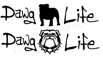 Dawg Life Decal