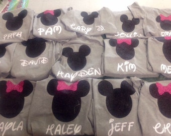 Family Disney T-shirts