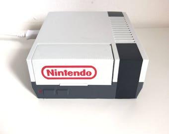 3D Printed NES Nintendo Raspberry Pi 3/2 retropie case