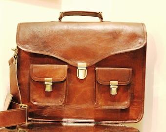 Leather Messenger Bag, Fair Trade, Sustainable, Affordable, Men's Gift, Women's Gift, Handmade, Sling Bag, Shoulder Bag, Men Leather Bag