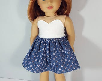 18 inch doll clothing Sweet Miss Daisy Dress