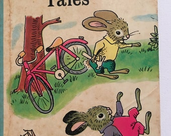 Springtime Tales Richard Scarry Kathryn Jackson 1967 Childrens Book Golden Star Library