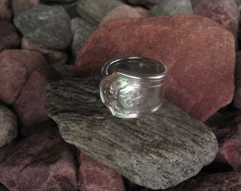 Classic Grecian Antique Spoon Ring Size 8.75  R273