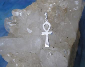Silver Ankh Pendant, Ankh Pendant, Sterling Silver Ankh Pendant, Silver Ankh Charm, Ankh Charm, Sterling Silver Ankh Charm, Ankh Egypt