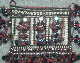 Vintage Afghan Tribal Bag 0.68m x 0.50m