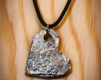 Hart pendent in pewter