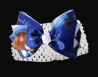 St. Mother Teresa  Infant Hair Band