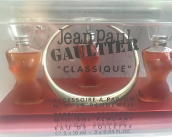Jean Paul Gaultier Classique 3x 10ml EDT THE PENDANT