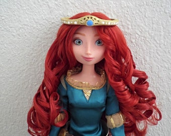 Disney Brave Merida Authentic Handmade Crown For Regular and Limited Doll