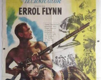 Kim - 1950 - Errol Flynn - US one sheet movie poster