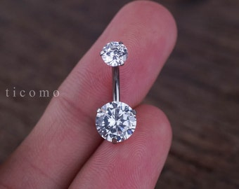 belly ring belly button ring belly button jewelry zircon
