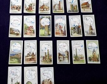 Ogdens By The Roadside 1932 British Cigarette Cards  21 of 50