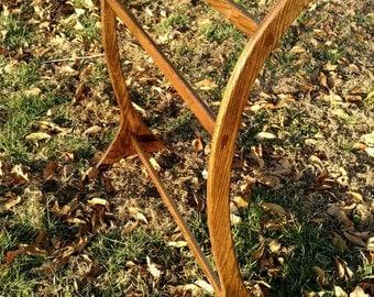 Oak Wood Quilt Rack