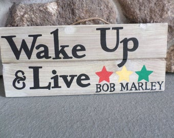 Bob Marley Collection: Wake Up & Live