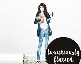 40% OFF** Read Description: LUXURIOUSLY FLAWED, Yvonne (Limited Stock)