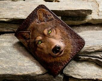 """Passport cover """"Wolf"""""""