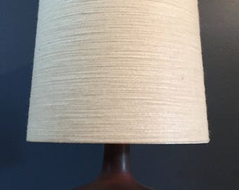 Vintage Painted Ceramic Lamp