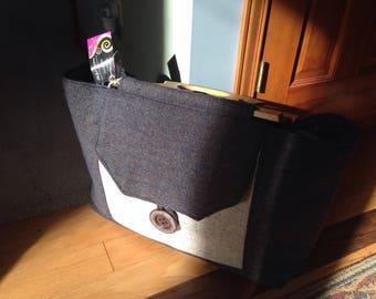 The Classic Irish Tweed Weekender Bag