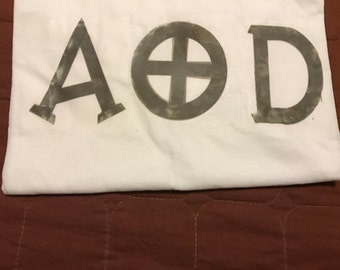 AOD Camouflage Letter Shirt