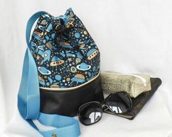 "Handbag ""Alois"" 2 in 1, brought back, shoulder, hand (small size)"