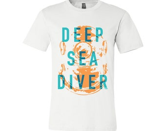 T-SHIRT KOMOA Deep sea diver (Black or White)