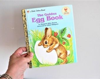 Little Golden Book The Golden Egg Book - Children's Picture Book