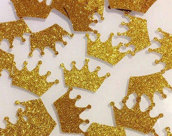Princess/ Prince Crown/ table confetti/ first birthday party/ babyshower confetti