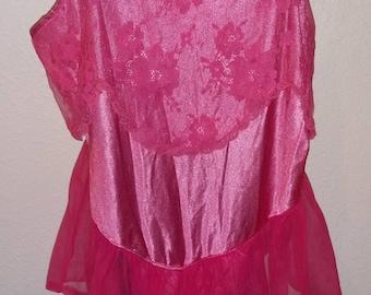 Vintage Bubblegum Pink Teddy