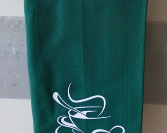Kitchen Dish Towel, Dark Green