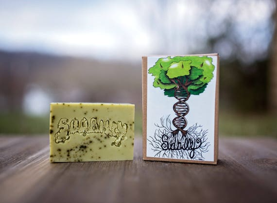 Matcha Green Tea and Lemongrass Essential Oil Goat's Milk Soap - SOY FREE #13829