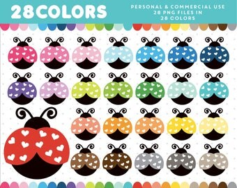 Ladybug Clipart, Ladybug Clip Art, PNG Ladybug, Ladybug Icons, Ladybug Scrapbooking, Digiscrapping, CL-36